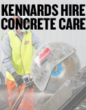 Concrete preparation, finishing and repair equipment