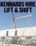 Large lifting, access and materials handling equipment
