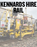 Certified best-of-class rail track maintenance equipment