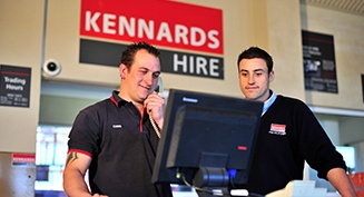 A Day in the Life - Kennards Hire Reception Team